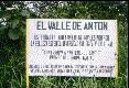 El Valle sign